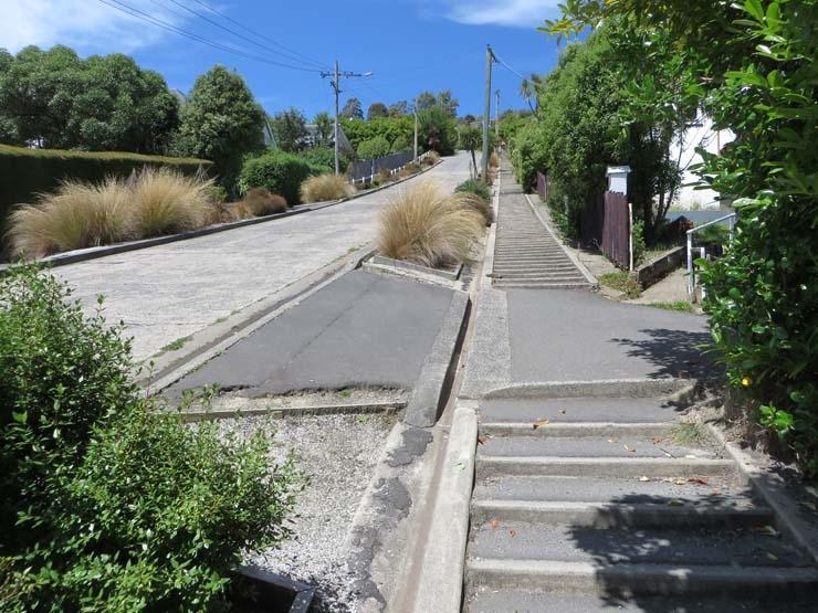 Baldwin Street steps