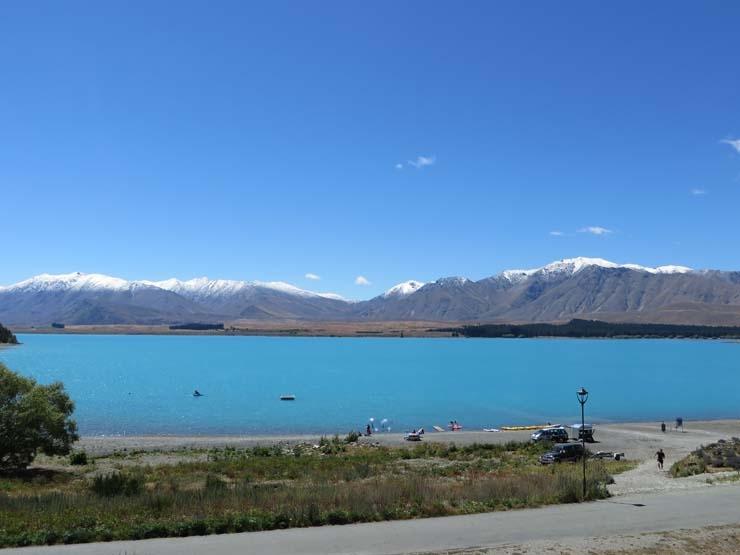 Lake Tekapo mountains