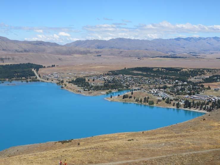 Lake Tekapo view from Mt John