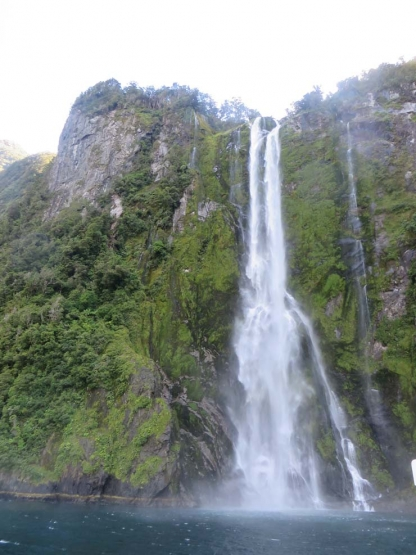 Stirling Falls at Milford Sound