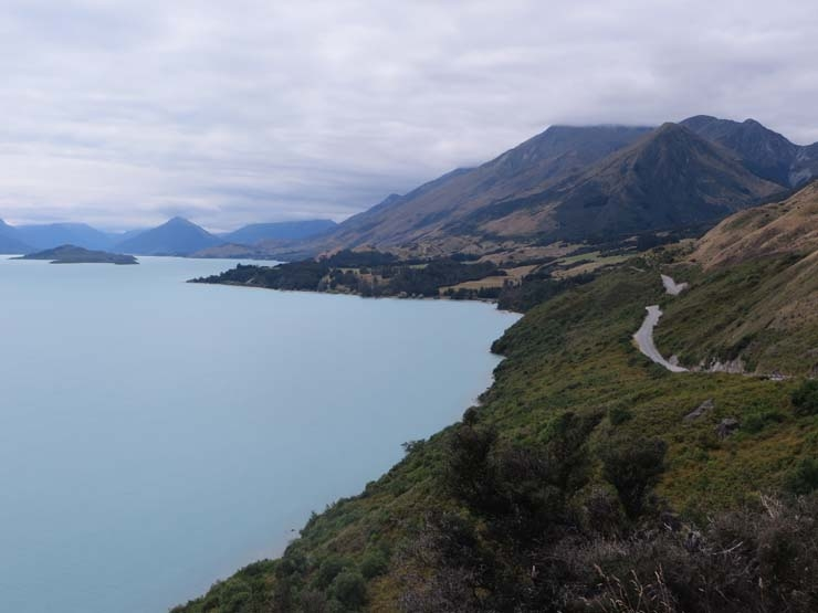The view on the way to Glenorchy