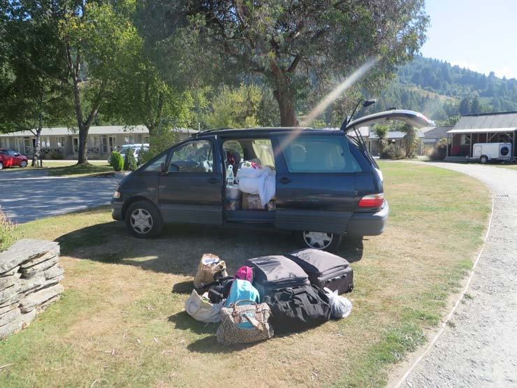Moving out of our campervan