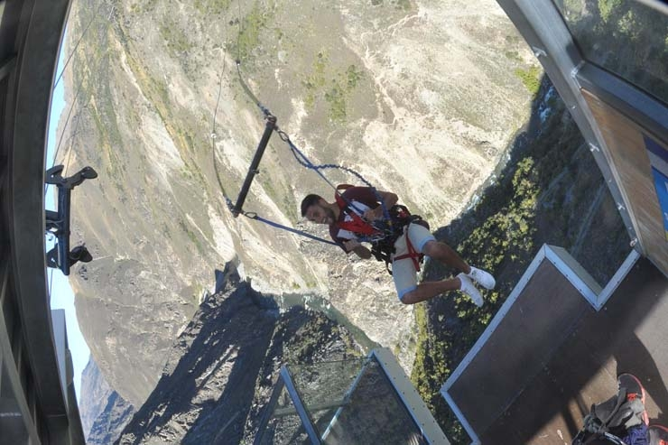 Nevis Canyon Swing
