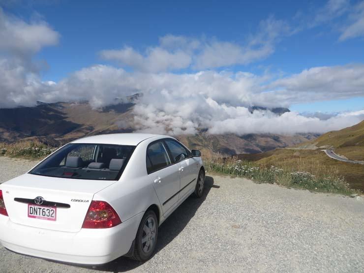 Crown Range, New Zealands highest sealed road