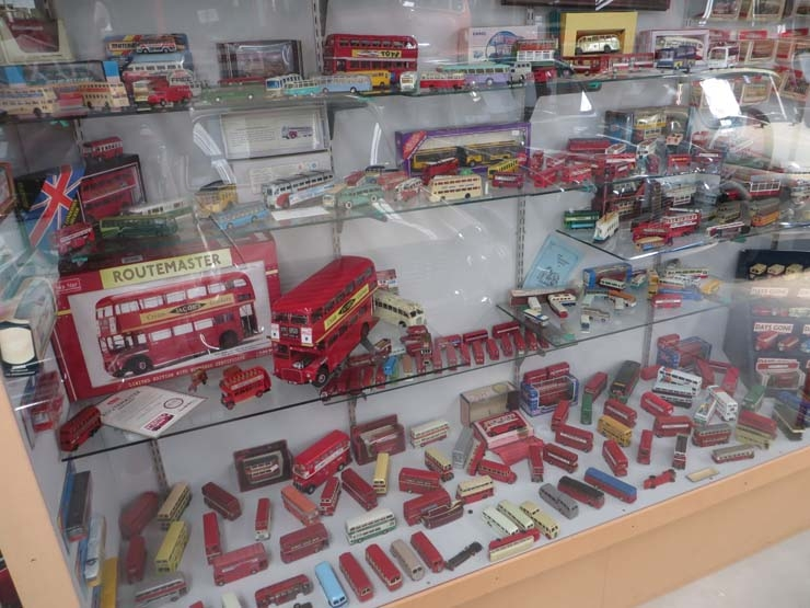 Wanaka Transport and Toy Museum toy cars