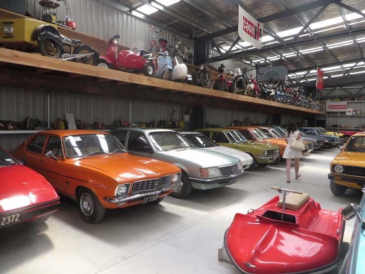 Wanaka Transport and Toy Museum cars